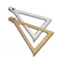 Комплект скоби за монтаж на инфрачервените отоплителни панели Пион Лукс и Пион Thermo Glass на стена